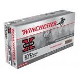 Cartucho WINCHESTER SUPER X C/270 WSM 150 GRS POWER POINT