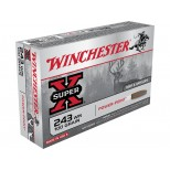 Cartucho WINCHESTER SUPER X C/243W 100 GRS POWER POINT
