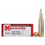HORNADY SUPERFORMANCE INTERN. 243 W GMX 80 GRS.