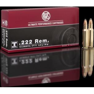 Municion RWS 222 REM TM 50