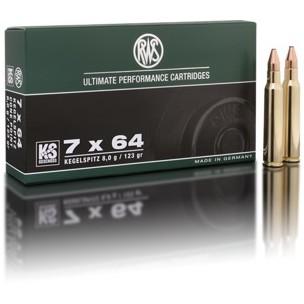 Municion RWS 7x64 KS 162 grs.