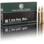 Municion RWS 7mm REM MAGNUM KS 162