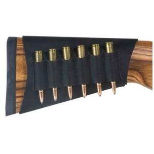 Canana de culata en neopreno para seis balas