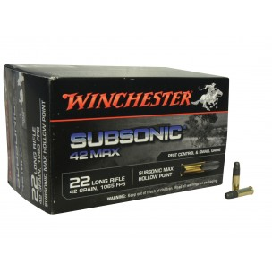 WINCHESTER C/ 22 LR SUBSONICA