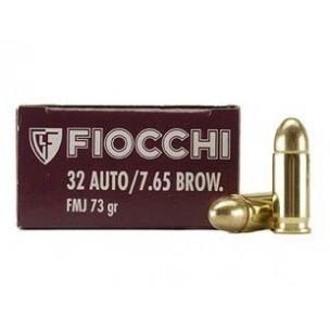 FIOCCHI cal 7,65 mm  FMJ