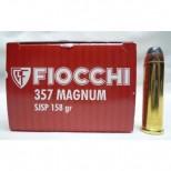 Municion Fiocchi cal 357 mm punta semiblindada