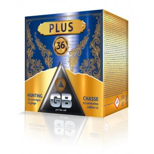 Cartucho GB PLUS 36 grs.