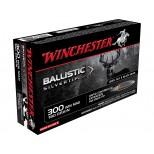 Cartucho Winchester 300 Win.Mag. 180GR  BALLISTIC SILVERTIP