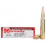 CARTUCHO HORNADY SUPERFORMANCE 30.06 SPRG 180 grs SST