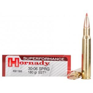 HORNADY SUPERFORMANCE 30.06 SPRG 180 grs SST