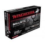 Cartucho WINCHESTER C/243W 95GR BALLISTIC SILVERTIP