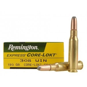 REMINGTON 308W 180GR CORE LOCK
