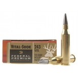 FEDERAL PREMIUM C/243W  NOSLER PARTITION 100GR.