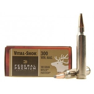FEDERAL PREMIUM C/300WM 180 GRS NOSLER PARTITION