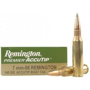 REMINGTON 7mm 08 140 gr ACCUTIP BOAT TAIL