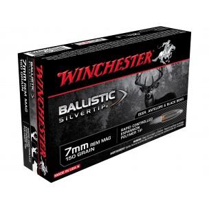 WINCHESTER SUPREME 7 mm RM  BALLISTIC SILVERTIP