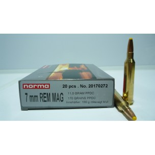 NORMA  C/7 mm RM 170 gr PPDC
