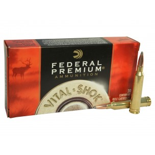 FEDERAL PREMIUM 7mm RM 160 gr NOSLER PARTITION
