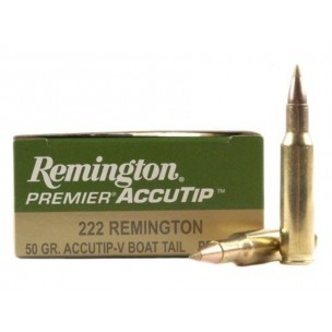 REMINGTON 222R  ACCUTIP 50gr