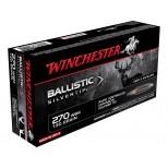Cartucho WINCHESTER 270WSM BALLISTIC SILVERTIP 130grs