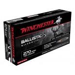 Cartucho WINCHESTER 270WSM BALLISTIC SILVERTIP 150grs