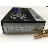 MUNICIÓN WEATHERBY 270WBY 130 gr SPITZER